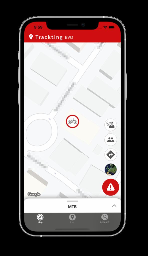 EVO App - Alarm mode