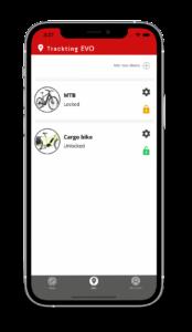EVO App - ebike list