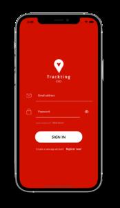 EVO App - User registration